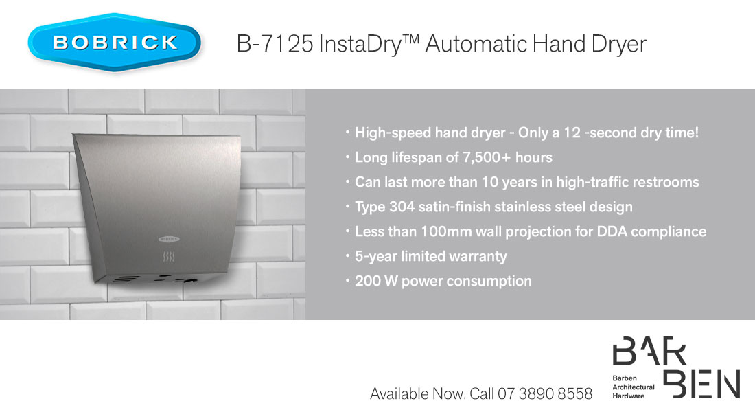 New Product Fast Dry Automatic Hand Dryer 187 Www Barben Com Au